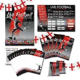 Euro 2020 Three Lions POS Kit